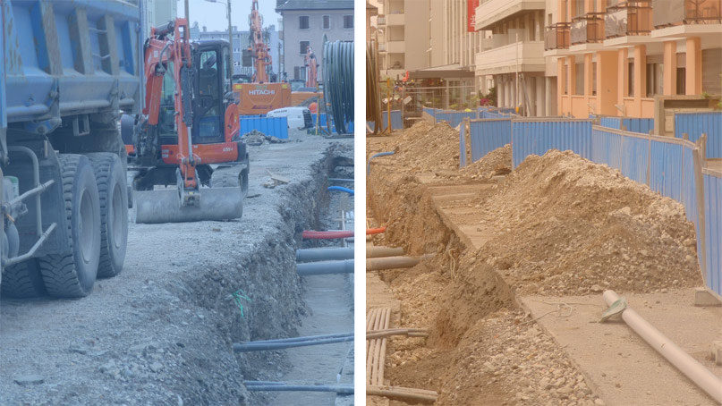 Tram Annemasse Genève bascule travaux