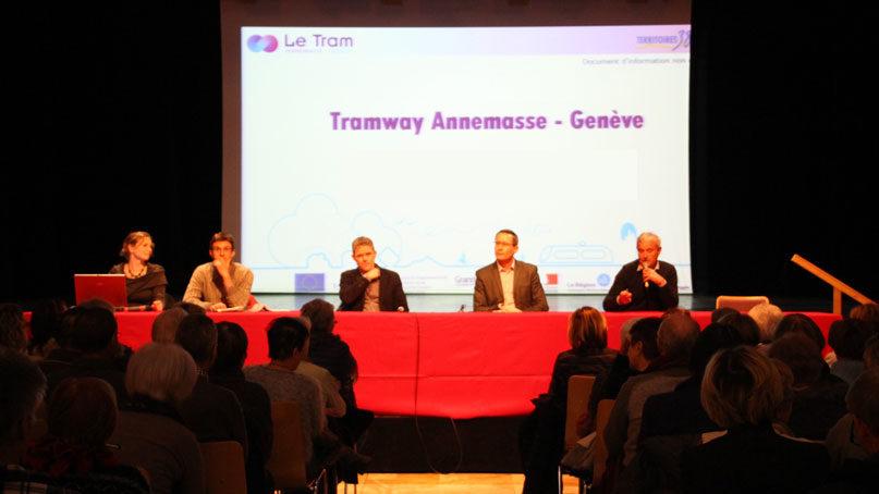 Tram Annemasse Genève réunion publique