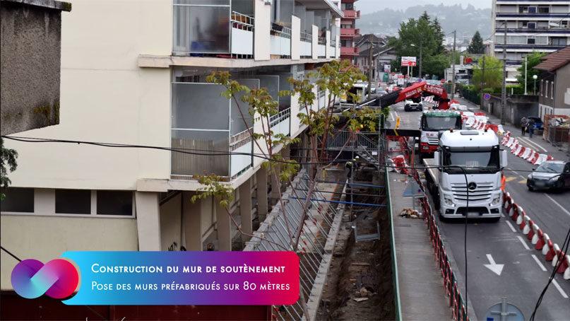 Tram Annemasse Geneve timelapse copro salève