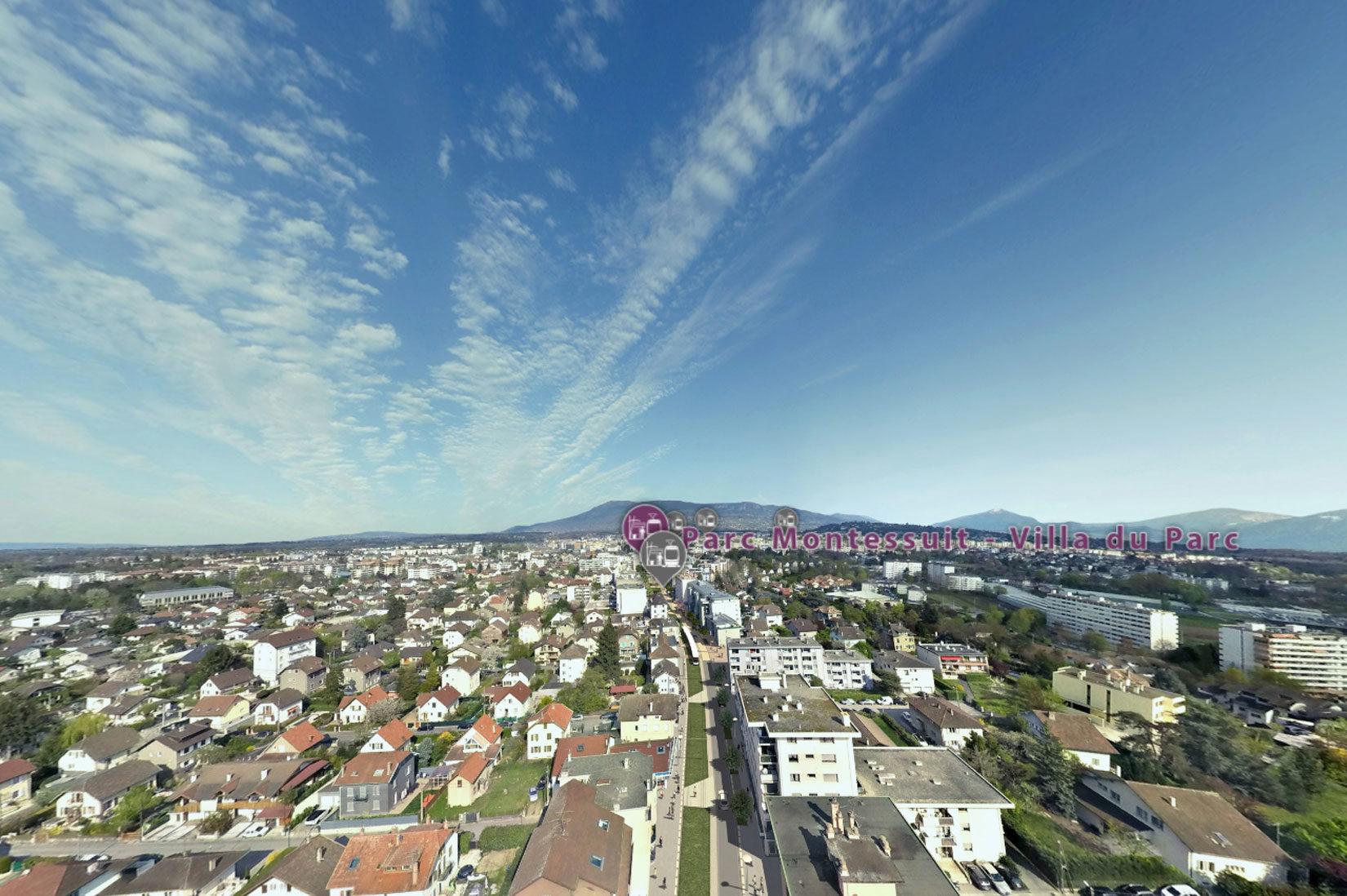 Tram Annemasse Geneve vues 3D