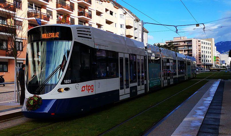 Le tram 17 circule depuis le 15 décembre