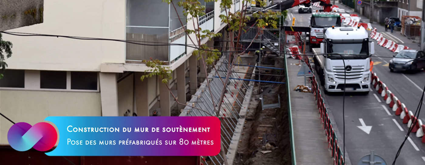 Tram Annemasse Genève timelapse copro salève