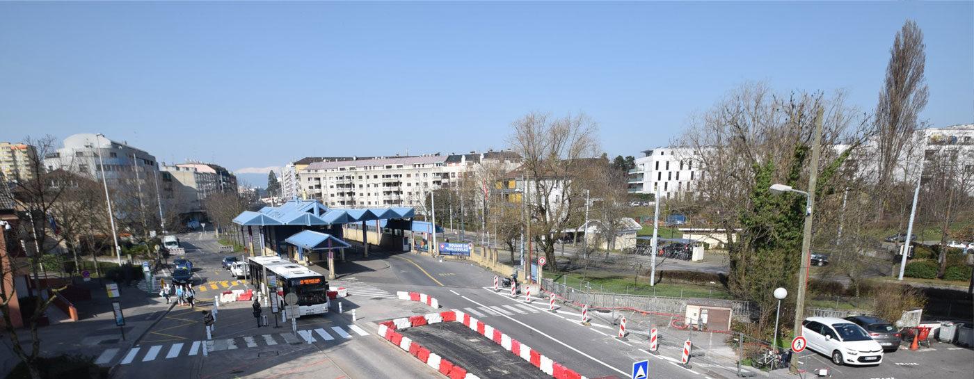 Les travaux en mars 2017 > Tram Annemasse-Genève