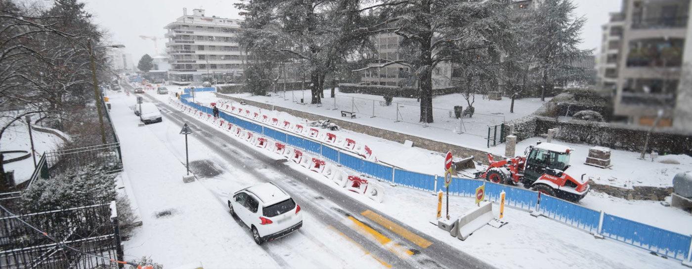 Tram Annemasse Genève trêve noel