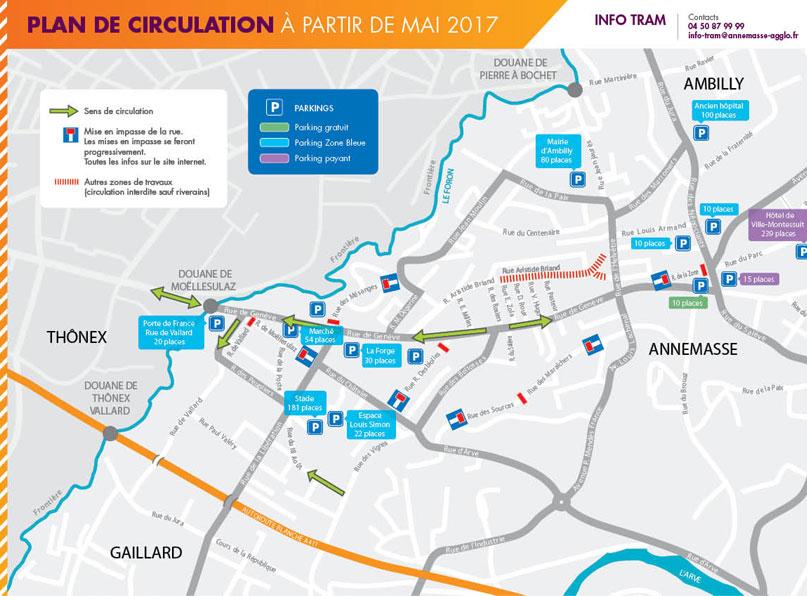 Tram Annemasse Genève bon plan circulation_