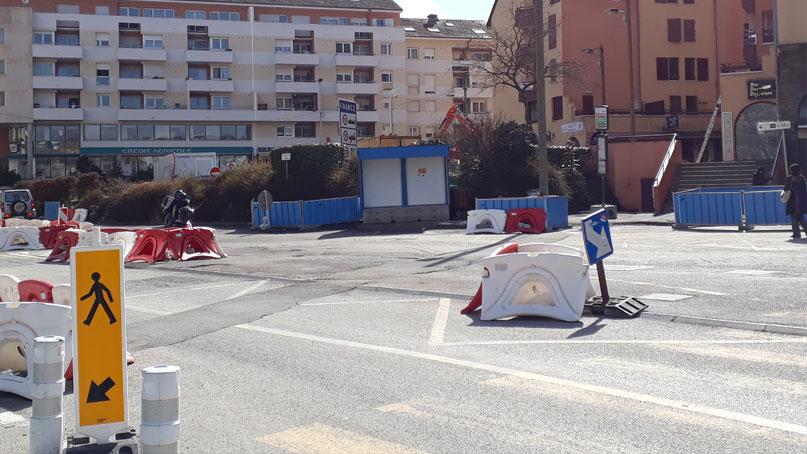 Tram Annemasse Genève arrêt bus douane