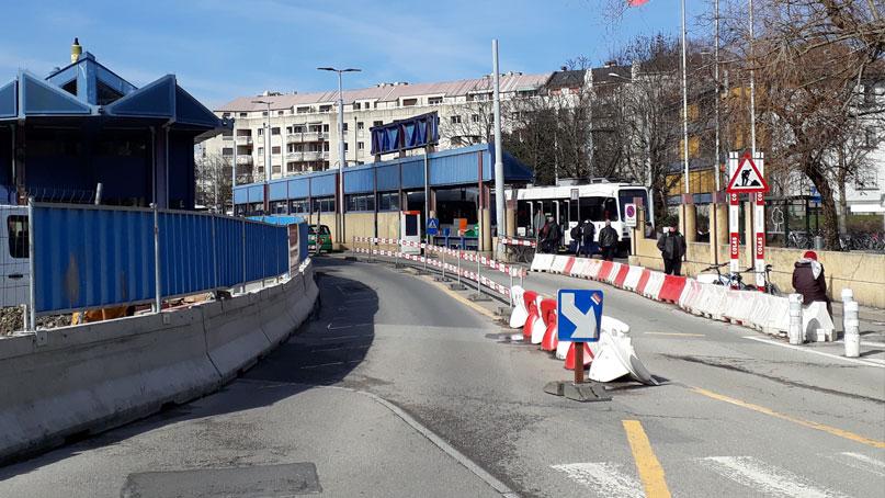 Tram Annemasse Genève bascule circulation OA Foron